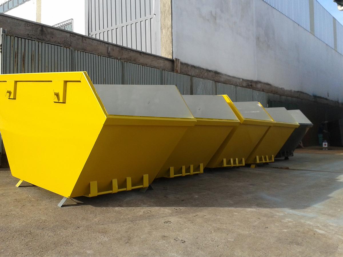 Fabricante de Caçamba de Entulho - ReciclaJá